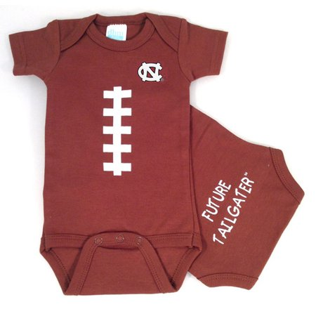 UNC North Carolina Tar Heel Baby Football - Football Baby