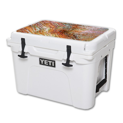 MightySkins Protective Vinyl Skin Decal for YETI Tundra 35 qt Cooler Lid wrap cover sticker skins Woodlands