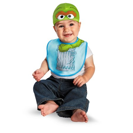 Infant Oscar Bib and Hat Costume by Disguise 57617 (Oscar Costume)