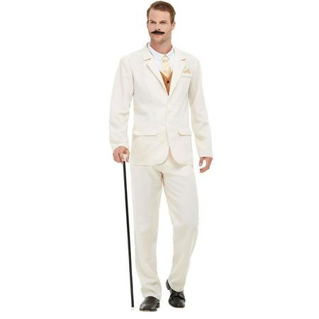 Roaring 20s White Costume (Roaring Twenties Men's Costumes)