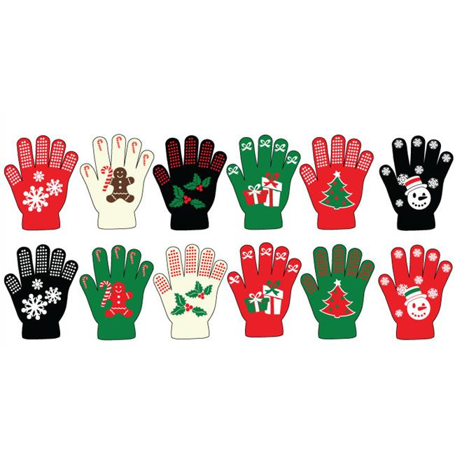 Ddi Ladies Christmas Non-Skid Gloves