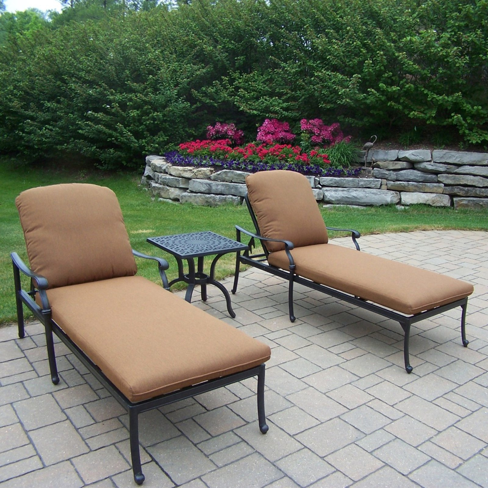Oakland Living Hampton Chaise Lounge Set
