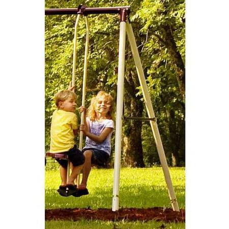 Best Flexible Flyer Play Park Metal Swing Set deal