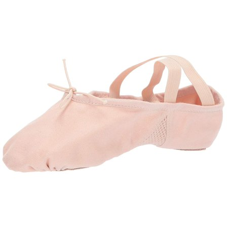 Leo Womens Arabesque Canvas Low Top Slip On Ballet & Dance Shoes