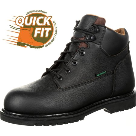 QUICKFIT Collection: Lehigh Safety Shoes Men's Steel Toe Puncture Resistant Electrical Hazard Work Boot - Mens Steel Toe Electrical Hazard