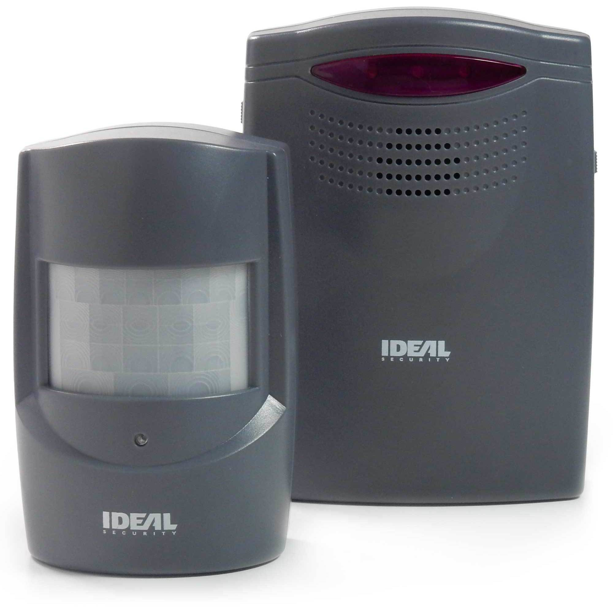 Wireless, expandable motion sensor alarm & alert Color Charcoal Grey