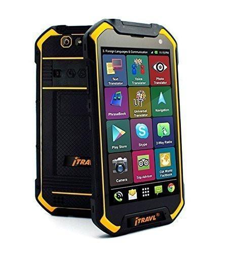ECTACO iTRAVL 2 TR V Thai English Android OS Based Touch Screen Electronic Talking Dictionary and Translator by