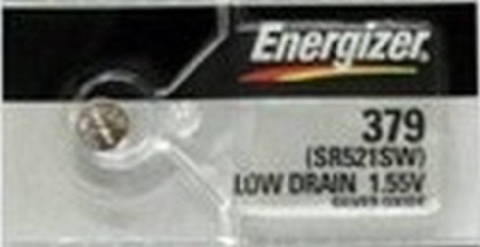Energizer 379 SR521 Silver Oxide Button Battery 1.55V 50 Pack + 30% Off! by