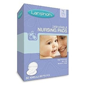 Lansinoh Nursing Pads, Disposable, 60 ct. ( 4-Pack) by Lansinoh