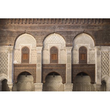 Morocco, Fes. the Ornate Interior of a Mosque Showing Cut Wood and Plaster Decoration Print Wall Art By Brenda Tharp](Print And Cut Out Halloween Decorations)