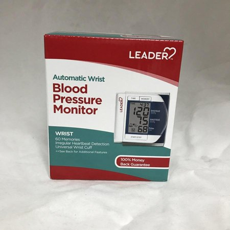 Leader Deluxe Automatic Wrist Blood Pressure Monitor 096295129298F2953
