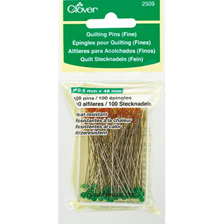 Clover Q2509 Quilting Pins, Fine Clover Quilting Notions
