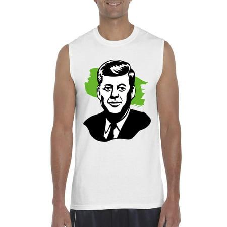 John F. Kennedy American President Men