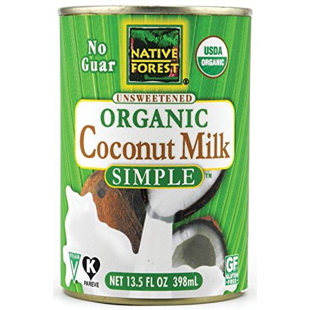 Native Forest Simple Organic Unsweetened Coconut Milk, 13.5 Fluid Ounce (Pack of