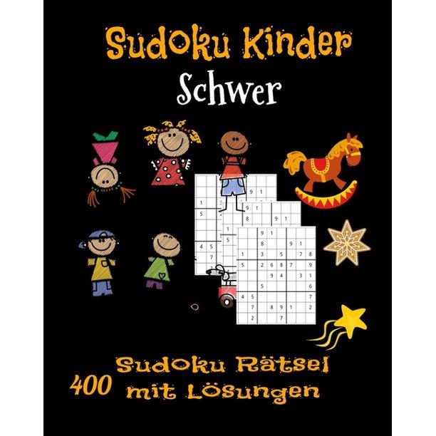 sudoku kinder schwer 400 sudoku rätsel mit lösungen