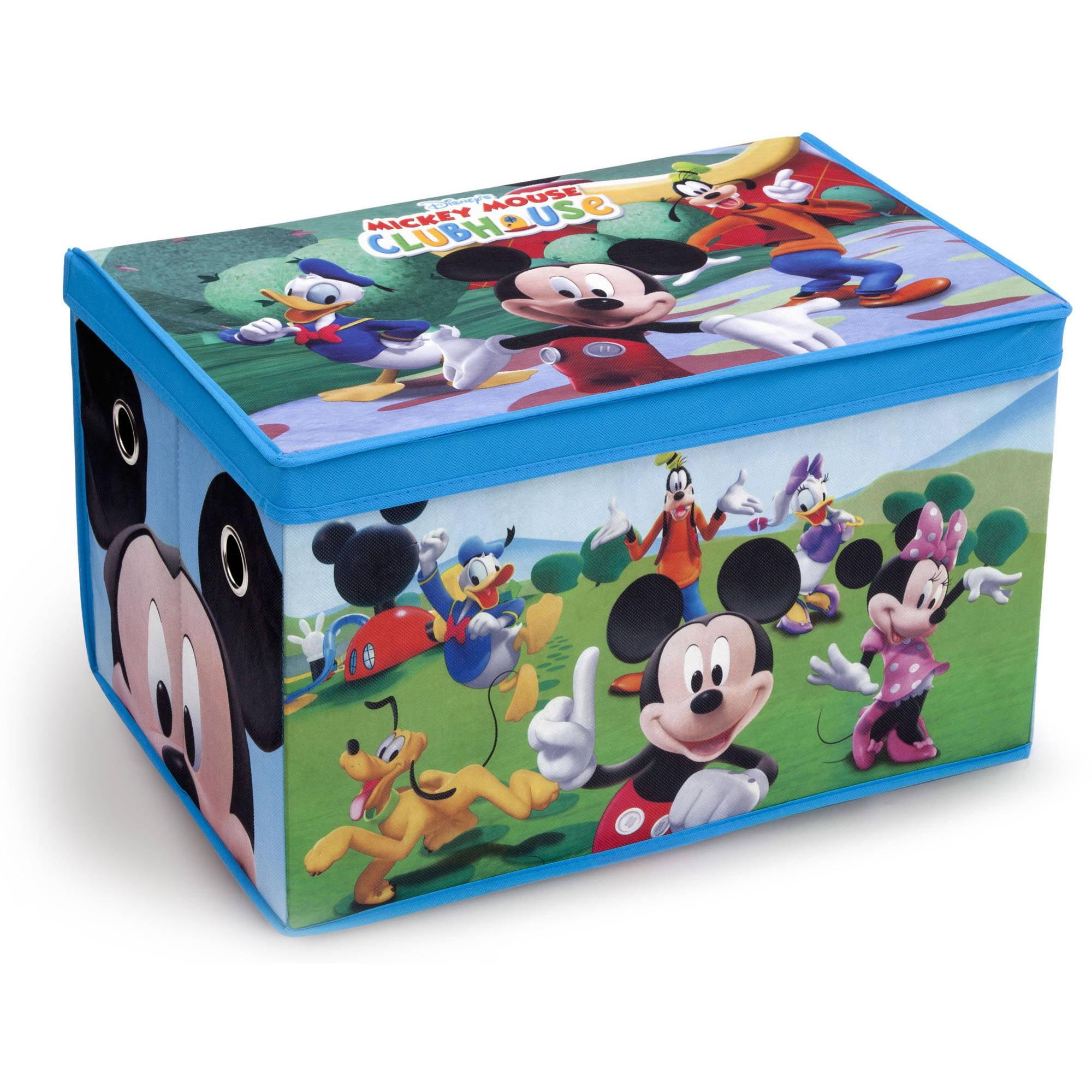 Disney Mickey Mouse Fabric Toy Box