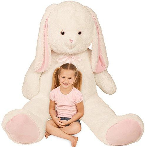 Kangaroo Giant Stuffed Rabbit Bunny Plush Over 5 Feet High 7