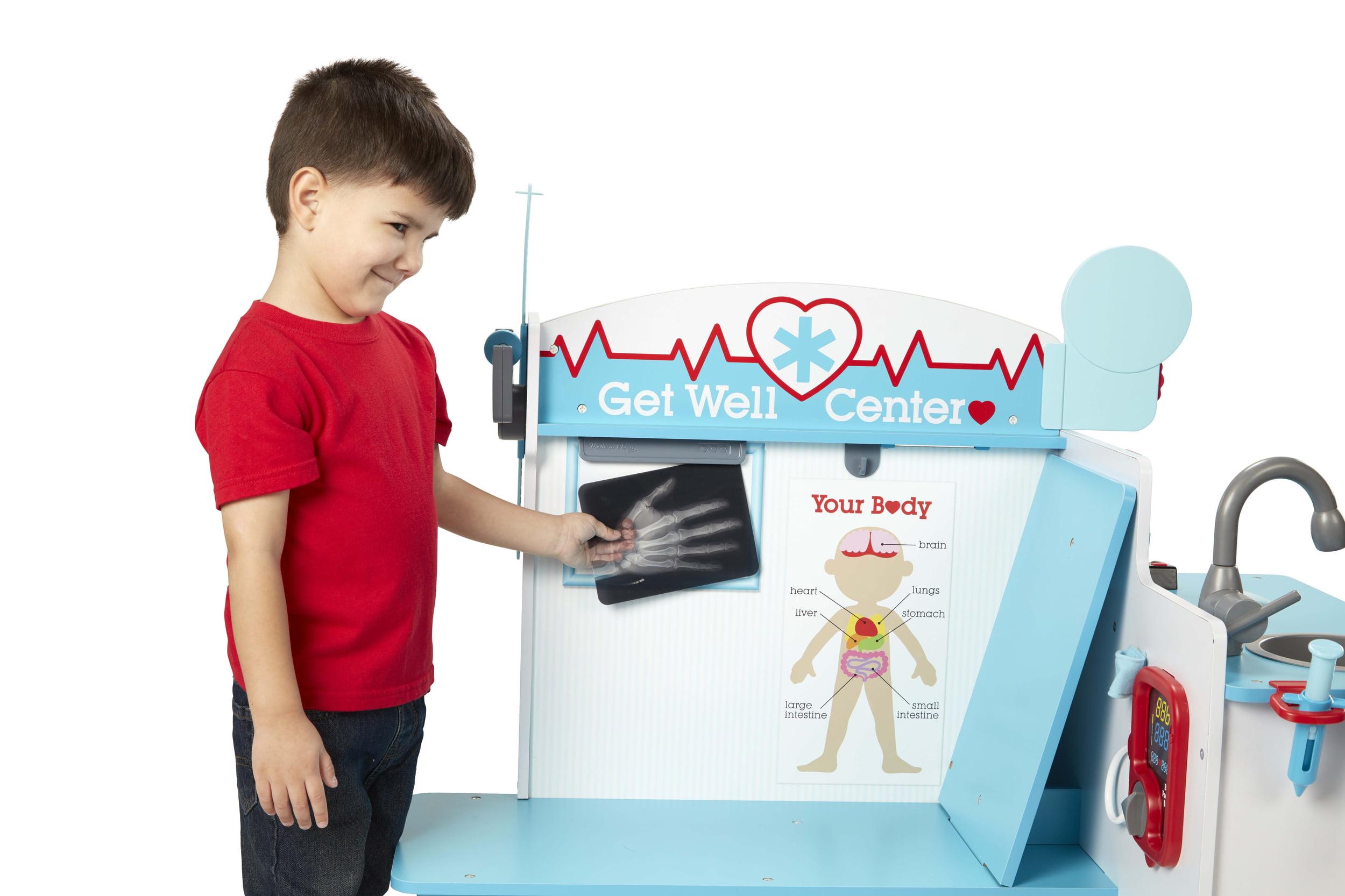 Melissa Doug Wooden Get Well Doctor Activity Center