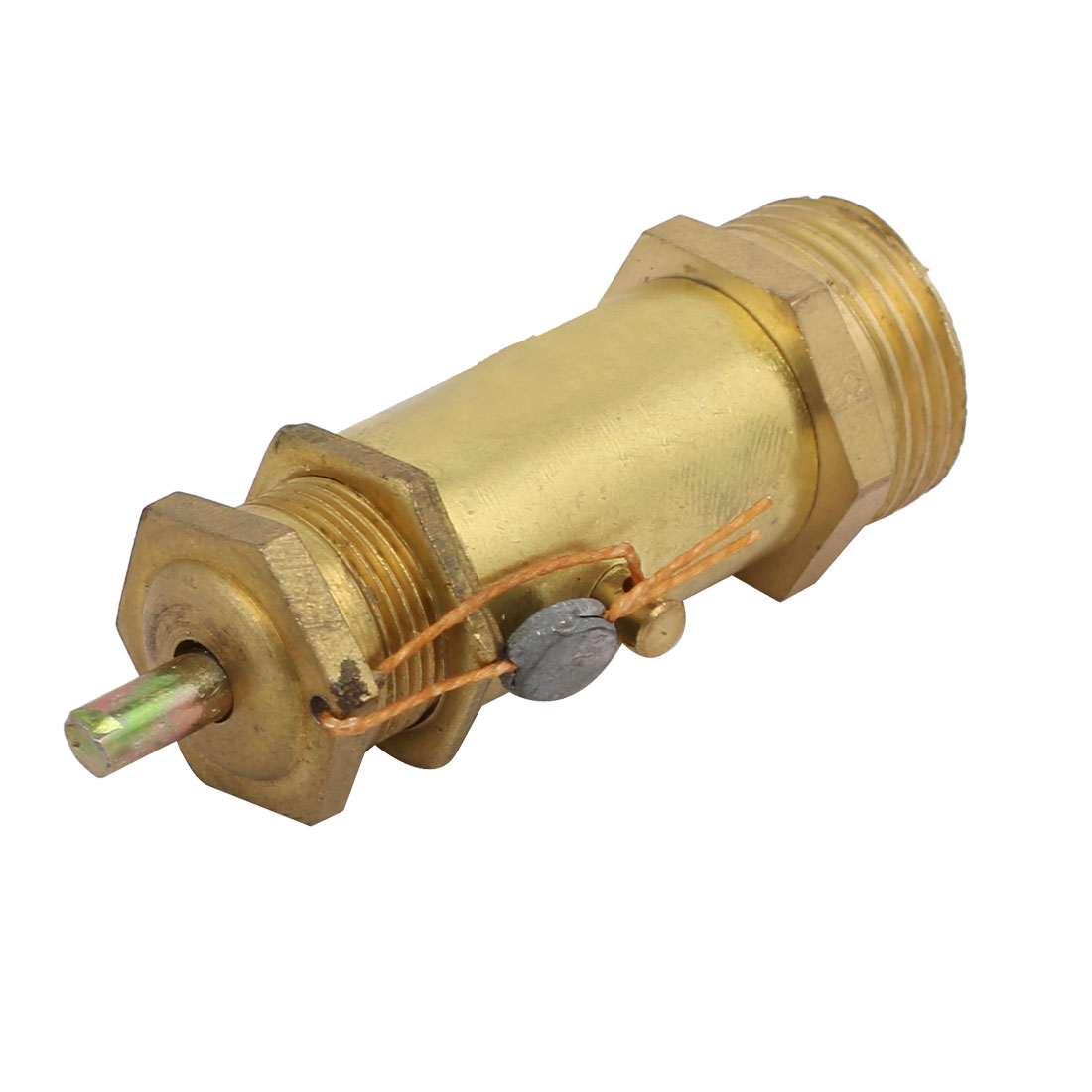 Unique Bargains 1/2PT Male Threaded Air Compressor Safety Pressure Relief Valve