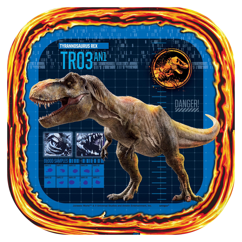 24 Pc Dinosaurs Party Dessert Plates