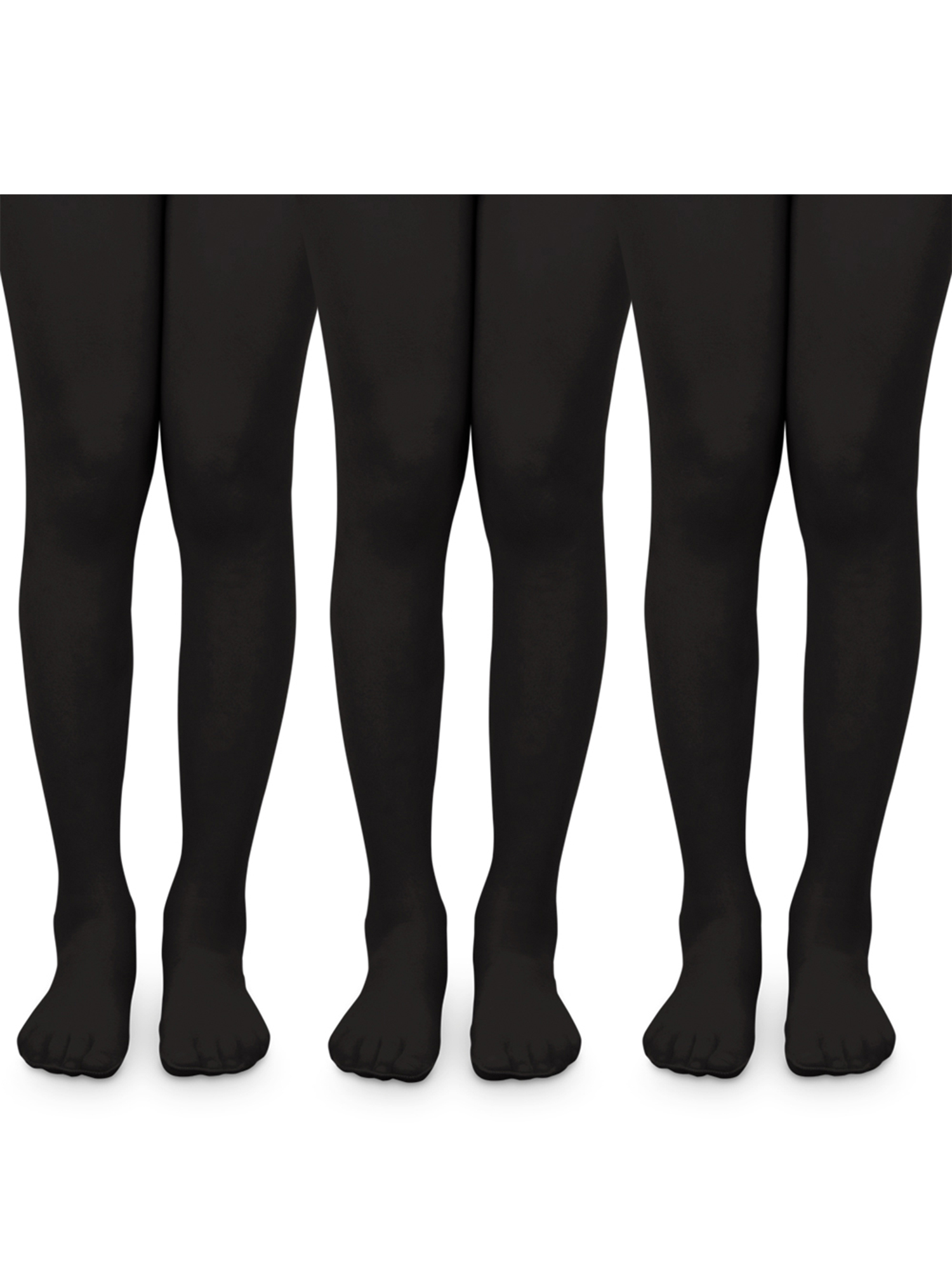 Pack of 3 Jefferies Socks Girls Smooth Tights