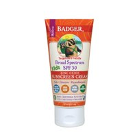 Badger - Active Kids Sunscreen Cream Tangerine & Vanilla 30 SPF - 2.9 Oz