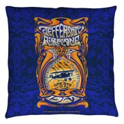 Jefferson Airplane Monterey Pop Throw Pillow White 14X14