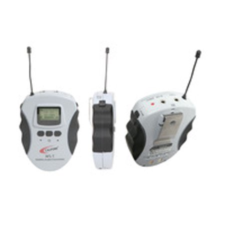 Califone WS-T Lightweight 16-Channel Wireless Audio System Transmitter for Assistive Listening WS Series