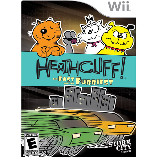 Heaathcliff The Fast and the Furriest For Wii