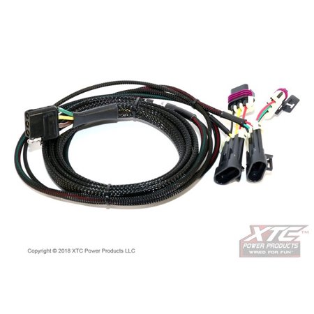 XTC Harness to 4 Pin Flat Trailer Connector for Honda