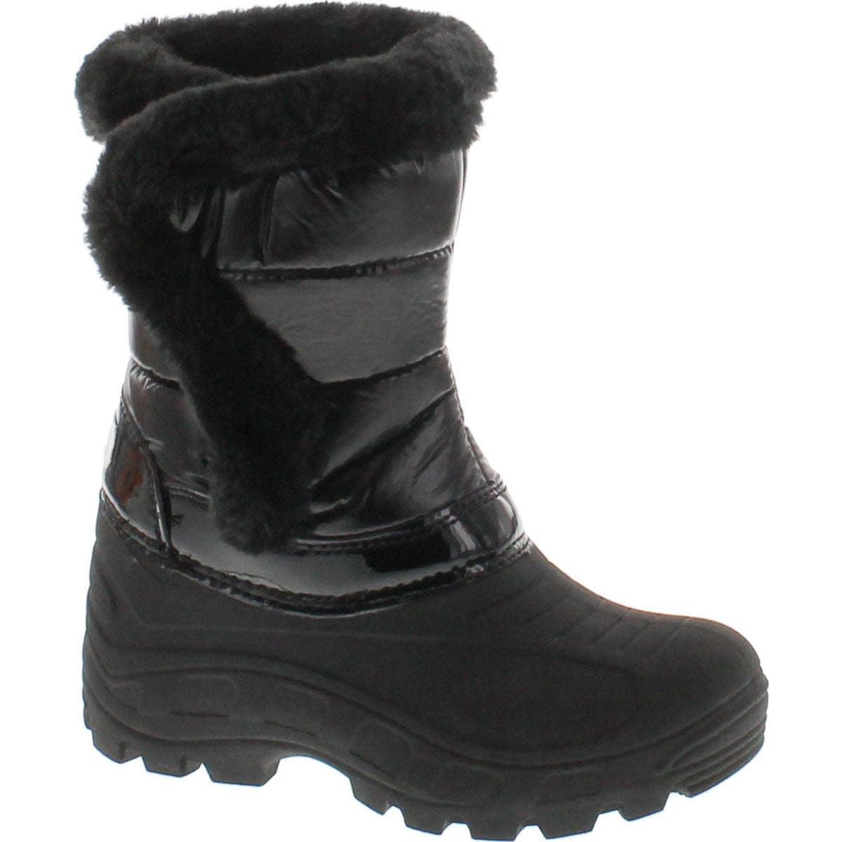 Yo Kids Girls Waterproof Winter Snow Boots