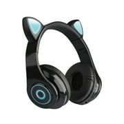 TOP.E B39 Cat Ears Headphones Bilateral Stereo Wireless Headset Headphone For Kids Girls Support Music Voice Control