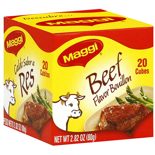 Maggi Beef Flavored Bouillon, 2.82 oz (Pack of 12)