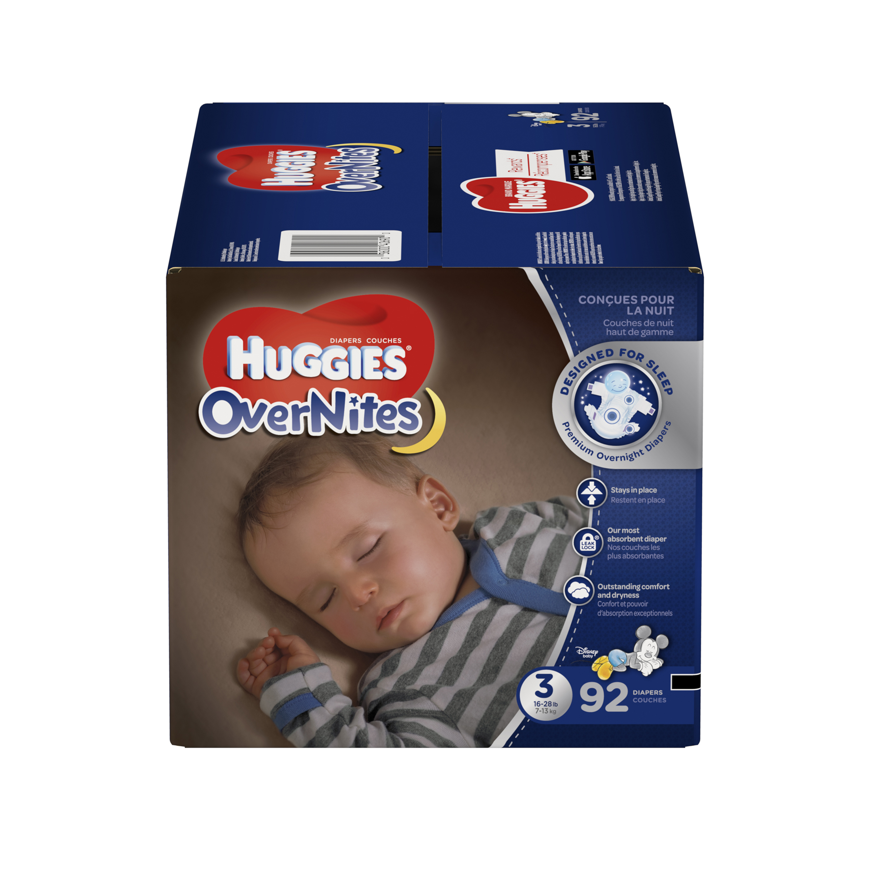 HUGGIES OverNites Diapers (Choose Size and Count)