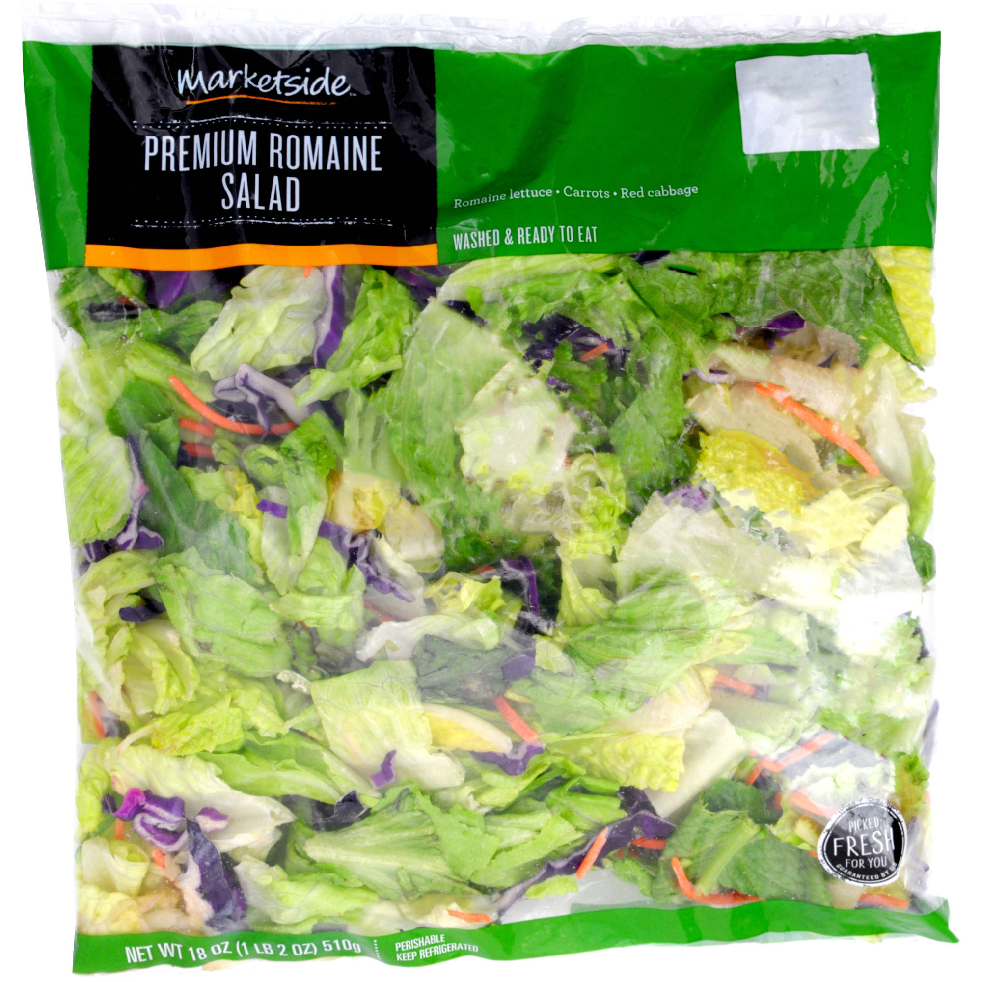 Marketside Premium Romaine Salad, 18 oz