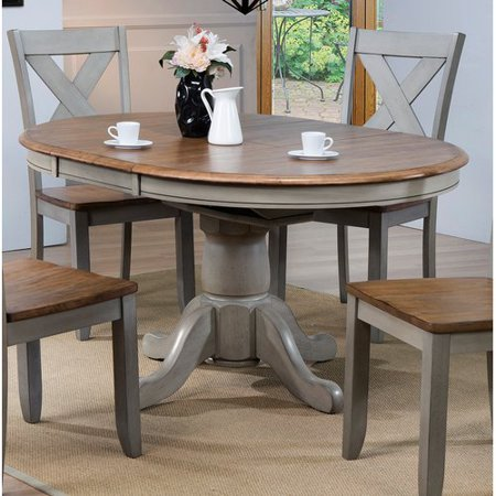 August Grove Wonderly Pedestal Erfly Leaf Dining Table