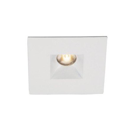 - WAC Lighting LEDme Mini 1in Recessed Downlight Open Reflector Square Trim 3500K White