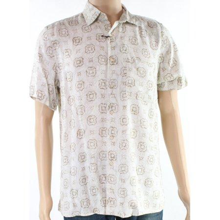 2f1316f2a23 Tasso Elba Casual Shirts - Tasso Elba Mens Medium Paisley Print Button Down  Shirt - Walmart.com