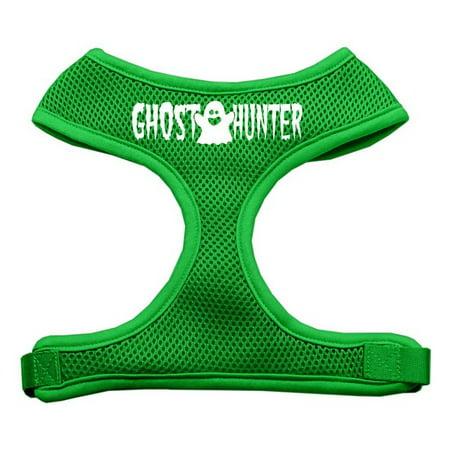 Ghost Hunter Design Soft Mesh Harnesses Emerald Green Small