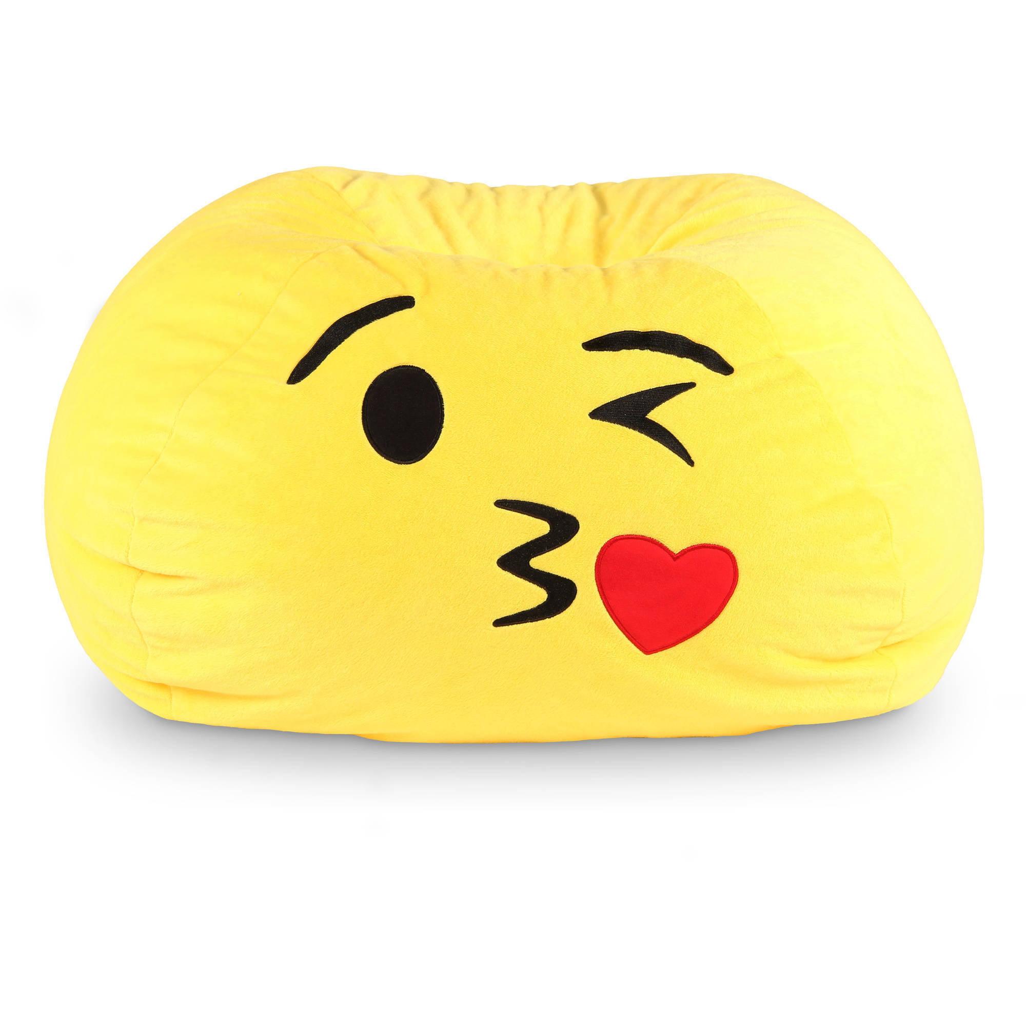 "GoMoji Bean Bag; Multiple Patterns - 28"" x 28"" x 14"""