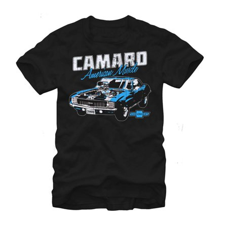 General Motors Chevy Camaro American Muscle Mens Graphic T Shirt