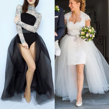 Women Layers Tulle Skirt Long Dress Princess Girls Ballet Tutu Dance Skirt Fanny - Tutu Skirts For Women