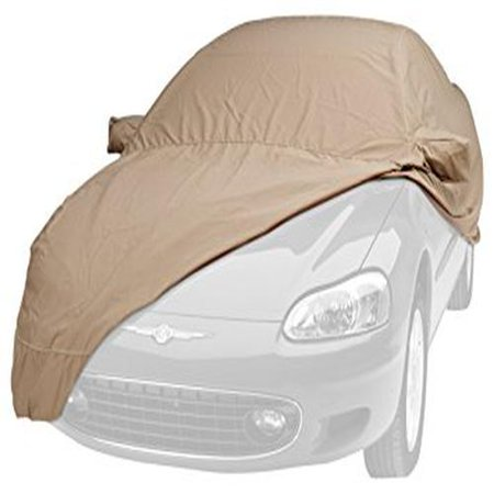 Covercraft Custom Fit Sunbrella Series Car Cover, Sky Blue