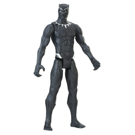 Marvel Titan Hero Series 12-inch Black Panther (12 Inch Figure Stand)