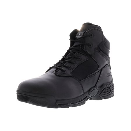 Gazelle 2 Leather Shoe (Magnum Men's Stealth Force 6.0 Waterproof Black High-Top Leather Industrial and Construction Shoe -)