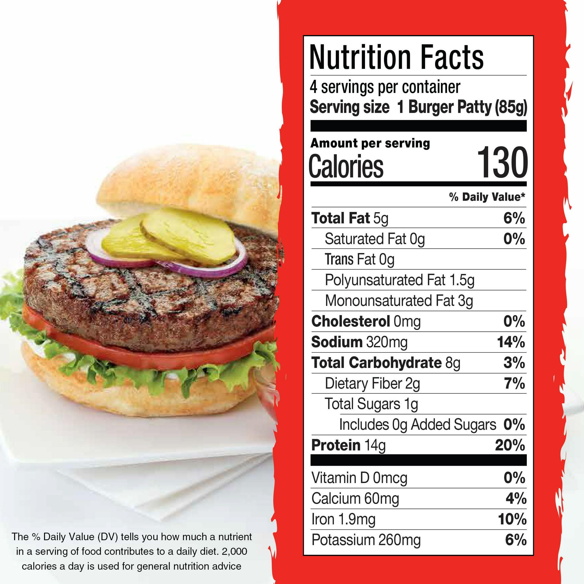 Gardein Ultimate Plant Based Beefless Burger Frozen Patties Vegan Frozen 12 Oz 4 Count Walmart Com Walmart Com,Tommy Pickles Maternal Grandparents