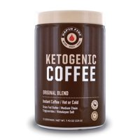 Rapid Fire Ketogenic Coffee Instant Coffee Mix, Keto Diet, 7.93 oz., 15 Servings