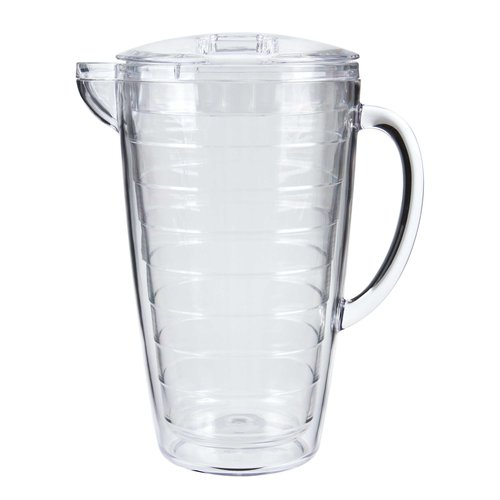 Mainstays 2.5-Quart Double Wall Pitcher, Clear