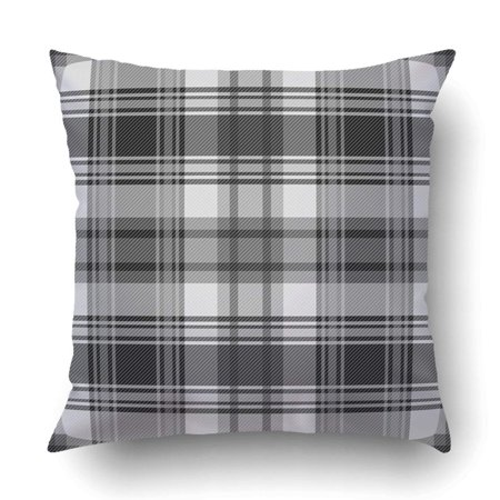 BOSDECO tartan plaid pattern fabric pattern Checkered texture Pillowcase Throw Pillow Cover Case 16x16 inches - image 1 de 2