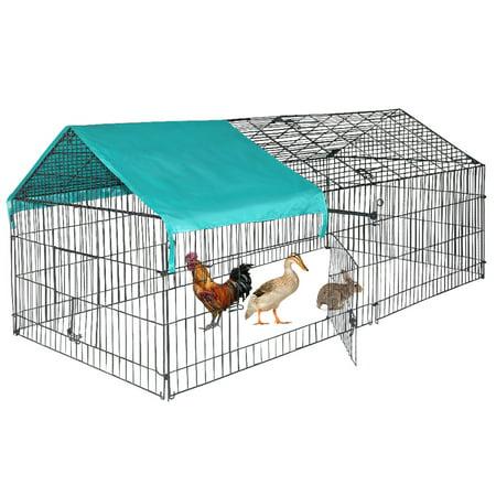 Chicken Pens Crate Rabbit Enclosure Pet Playpen Exercise Pen by